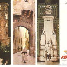 Postales: PUBLICITARIA, IBERIA, ANDORRA, MALLORCA, MADRID, 1970, SIN CIRCULAR. Lote 110079615