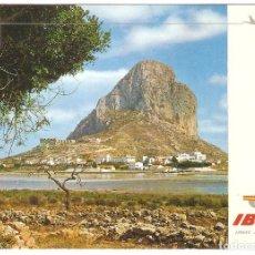 Postales: PUBLICITARIA, IBERIA, CALPE, 1970, SIN CIRCULAR. Lote 110079647