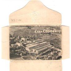 Postales: PUBLICITARIA, ALBUM CON 10 POSTALES CASA CODORNIU, SIN CIRCULAR. Lote 110080267