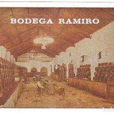 Postales: PUBLICITARIA, BODEGAS RAMIRO, SIN CIRCULAR. Lote 110080291