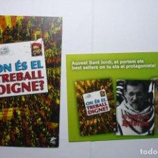 Postales: LOTE POSTALES POLITICAS JOVES ESQUERRA VERDA-IMPRESAS AL DORSO. Lote 110144771