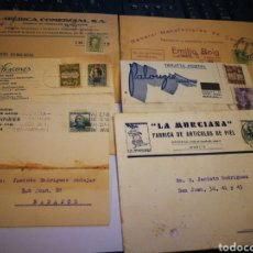 Postales: 6 TARJETAS POSTALES. CON PUBLICIDAD. Lote 110388530