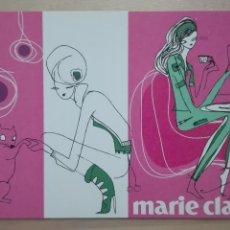 Postales: POSTAL PUBLICIDAD MODA MARIE CLAIRE POSTALFREE SIN CIRCULAR. Lote 110643627