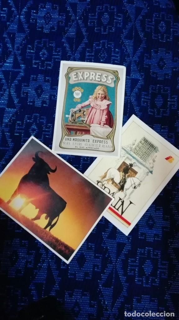 LOTE 3 POSTALES NUEVAS PUBLICIDAD MIRA FOTOS (Postales - Postales Temáticas - Publicitarias)
