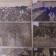 Postales: P-612.- LOTE DE 6 POSTALES.--GUARDIOLA DE FONTRUBI-- CAVAS BAQUES, DIVERSAS SECCIONES DE LAS CAVAS. Lote 111767303