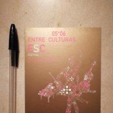 Postales: POSTAL ORIGINAL -10*15- NOSDO SEVILLA - ALBUM - FERIA 2006 - FESTIVAL ENTRE CULTURAS. Lote 112938987