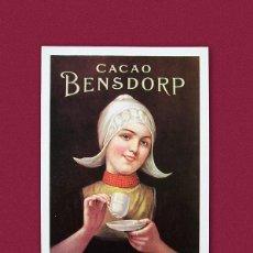 Postales: CACAO BENSDORP - POSTAL PUBLICITARIA. Lote 155565565