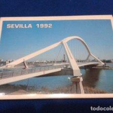 Postales: POSTAL TACO 10 FOTOS COLOR EXPOSICION UNIVERSAL SEVILLA 1992 NUMERADAS DEL 501 AL 510. Lote 115141391
