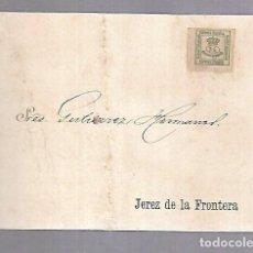 Postales: POSTAL PUBLICITARIA. GUTIERREZ HERMANOS. 1896. JEREZ DE LA FRONTERA. VER DORSO. Lote 115460115