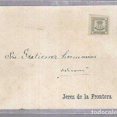 Postales: POSTAL PUBLICITARIA. GUTIERREZ HERMANOS. 1896. JEREZ DE LA FRONTERA. VER DORSO. Lote 115460379