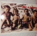 Postales: POSTAL RESTAURANTE PARÍS ...35° À L'OMBRE NIÑOS EN LA PLAYA RETRO. Lote 115503859