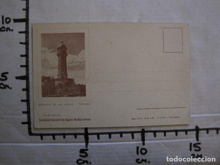 Postales: POSTAL PUBLICIDAD - SOCIEDAD GENERAL DE AGUAS DE BARCELONA -VER FOTOS - (52.266) - Foto 5 - 115513855