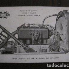 Postales: POSTAL PUBLICITARIA - COCHES - AUTOMOVILES - STOEWER - VOGEL Y MATAS - VER FOTOS - (52.156). Lote 115601479