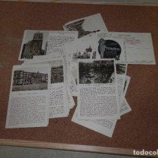 Postales: BONITA COLECCION DE 39 POSTALES, MADRID, CON PUBLICIDAD TOBERAL, EDICIONES CAYON. Lote 115631391