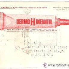 Postales: -48111 POSTAL FARMACEUTICA DERMO H INFANTIL, LABORATORIOS ANDROMACO, REVERSO BARCOS COSTA BRAVA. Lote 115842723