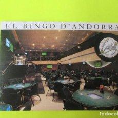 Postales: POSTAL PUBLICITARIA EL BINGO DE ANDORRA . Lote 116286391
