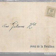 Postales: POSTAL PUBLICITARIA. GUTIERREZ HERMANOS. 1896. JEREZ DE LA FRONTERA. VER DORSO. Lote 116336135
