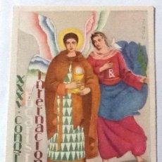 Postales: XXXV CONGRESO EUCARÍSTICO, BARCELONA 1952. Lote 116526123