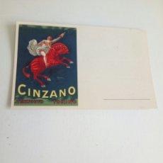 Postales: POSTAL PUBLICITARIA VERMOUTH CINZANO ILUSTRADA POR CAPIELLO VERMUT VERMUTH. Lote 116721471