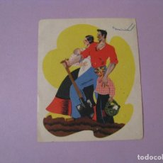 Postales: TARJETA POSTAL FOSFORO FERRERO. SERIE 1 Nº 1. RECORTADA.. Lote 117393903