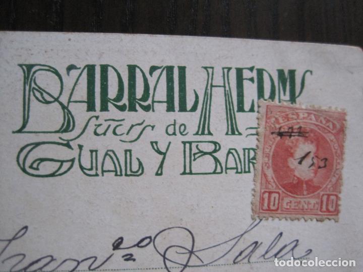 Postales: POSTAL PUBLICITARIA REVISTA ARTS-TALLERES BARRAL- DIBUJO NUALART-REVERSO SIN DIVIDIR -(52.648) - Foto 6 - 118273607