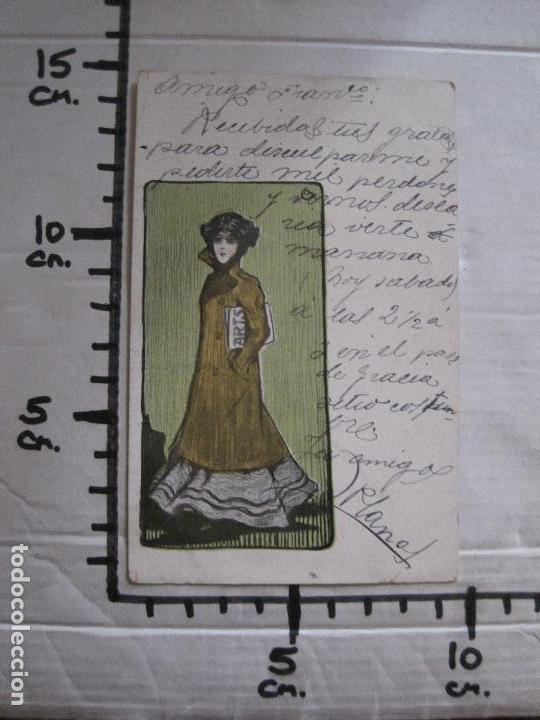 Postales: POSTAL PUBLICITARIA REVISTA ARTS-TALLERES BARRAL- DIBUJO NUALART-REVERSO SIN DIVIDIR -(52.648) - Foto 7 - 118273607