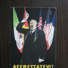 Postales: POSTAL PUBLICITARIA BANCA GINO ALHAIQUE -ROMA -VER FOTOS -(52.652). Lote 118274567