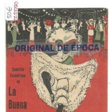 Postales: (PS-55730)POSTAL DE LA BUENA SOMBRA(BARCELONA)-ARTISTAS DEL MOULIN ROUGE DE PARIS. Lote 118389059