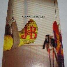 Postales: (ALB-TC-21) TARJETA POSTAL PUBLICITARIA JB CON HIELO. Lote 118411571