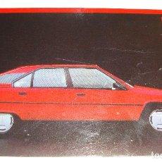 Postales: (ALB-TC-21) TARJETA POSTAL PUBLICITARIA CITROEN BX GT COLECCION 1985. Lote 118411611