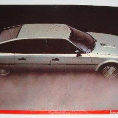 Postales: (ALB-TC-21) TARJETA POSTAL PUBLICITARIA CITROEN CX GTI I TURBO COLECCION 1985. Lote 118411615