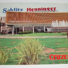 Postales: (ALB-TC-21) TARJETA POSTAL PUBLICITARIA CERVECERAS ASOCIADAS HENNINGER CRUZCAMPO . Lote 118411707