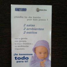Postales: SALA OM NUEVO RIU. PUBLICIDAD. 40 PRINCIPALES.. Lote 118412979