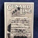 Postales: POSTAL PUBLICITARIA CUNARD LINE R M S AQUITANIA SECTIONAL VIEW SECCION SIN CIRCULAR. Lote 120687047