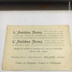 Postales: L' AMIDON REMY. Lote 121020302