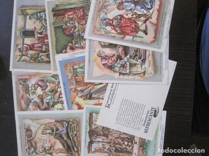 Postales: COLECCION 9 POSTALES FARMACIA - PUBLICIDAD DERMOSACUSI CLORAZIN - VER FOTOS - (52.943) - Foto 2 - 122706235
