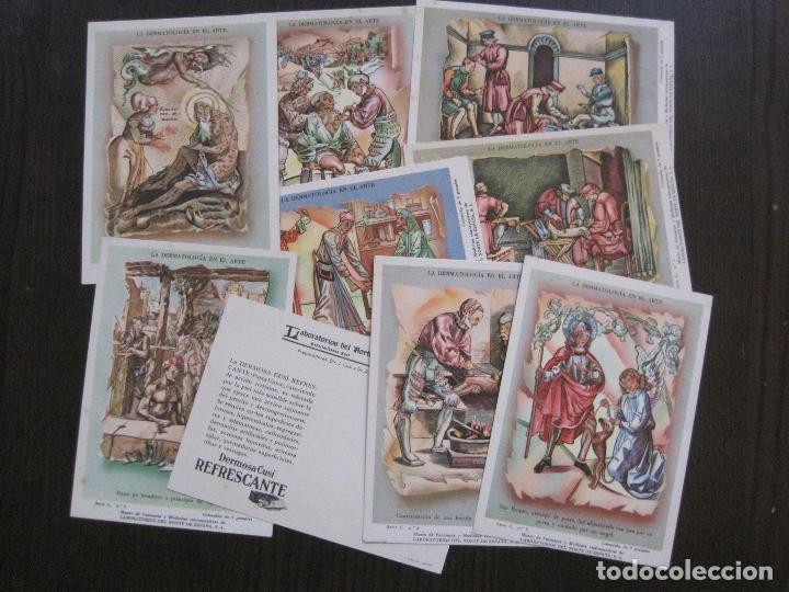 Postales: COLECCION 9 POSTALES FARMACIA - PUBLICIDAD DERMOSACUSI CLORAZIN - VER FOTOS - (52.943) - Foto 3 - 122706235