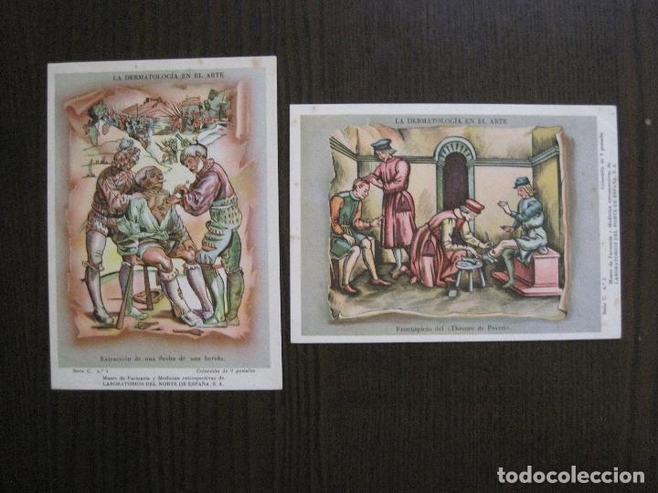 Postales: COLECCION 9 POSTALES FARMACIA - PUBLICIDAD DERMOSACUSI CLORAZIN - VER FOTOS - (52.943) - Foto 4 - 122706235