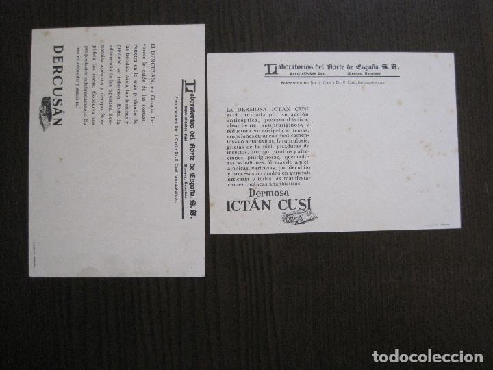 Postales: COLECCION 9 POSTALES FARMACIA - PUBLICIDAD DERMOSACUSI CLORAZIN - VER FOTOS - (52.943) - Foto 5 - 122706235