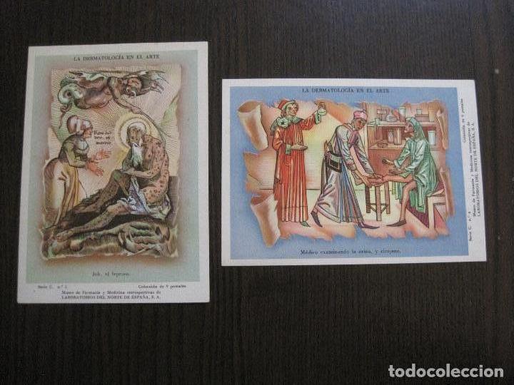 Postales: COLECCION 9 POSTALES FARMACIA - PUBLICIDAD DERMOSACUSI CLORAZIN - VER FOTOS - (52.943) - Foto 7 - 122706235