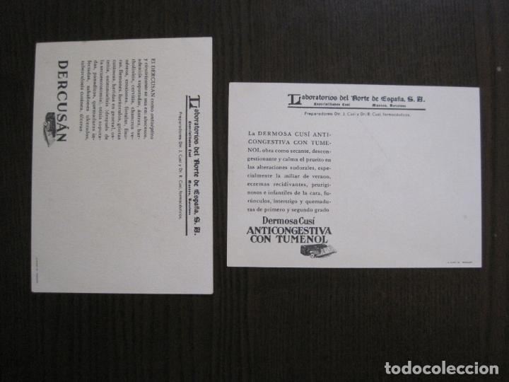 Postales: COLECCION 9 POSTALES FARMACIA - PUBLICIDAD DERMOSACUSI CLORAZIN - VER FOTOS - (52.943) - Foto 8 - 122706235