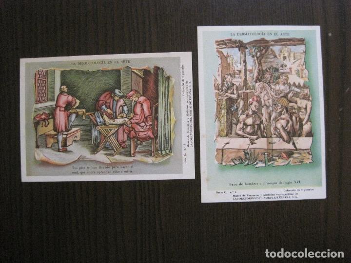 Postales: COLECCION 9 POSTALES FARMACIA - PUBLICIDAD DERMOSACUSI CLORAZIN - VER FOTOS - (52.943) - Foto 9 - 122706235