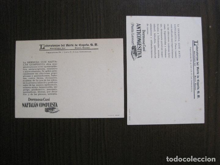 Postales: COLECCION 9 POSTALES FARMACIA - PUBLICIDAD DERMOSACUSI CLORAZIN - VER FOTOS - (52.943) - Foto 10 - 122706235