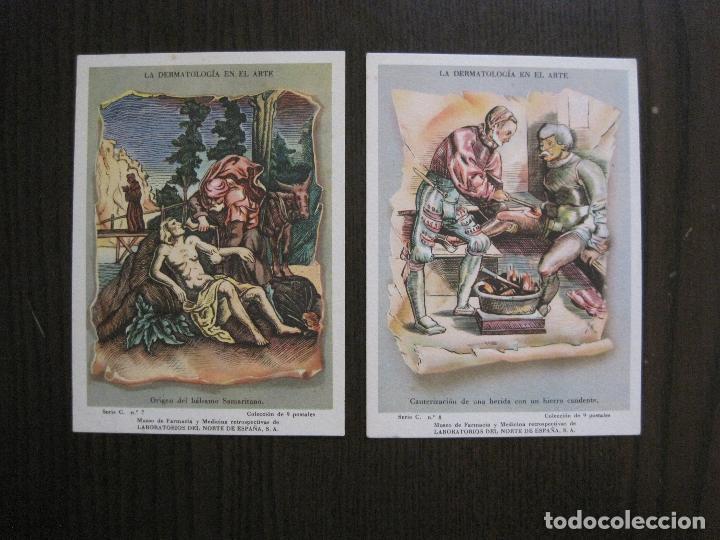 Postales: COLECCION 9 POSTALES FARMACIA - PUBLICIDAD DERMOSACUSI CLORAZIN - VER FOTOS - (52.943) - Foto 11 - 122706235