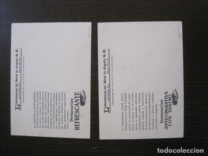 Postales: COLECCION 9 POSTALES FARMACIA - PUBLICIDAD DERMOSACUSI CLORAZIN - VER FOTOS - (52.943) - Foto 12 - 122706235