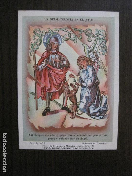 Postales: COLECCION 9 POSTALES FARMACIA - PUBLICIDAD DERMOSACUSI CLORAZIN - VER FOTOS - (52.943) - Foto 13 - 122706235
