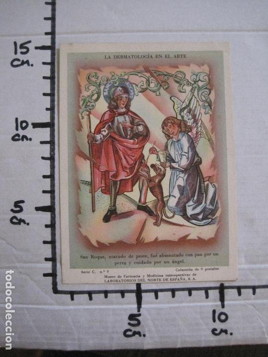 Postales: COLECCION 9 POSTALES FARMACIA - PUBLICIDAD DERMOSACUSI CLORAZIN - VER FOTOS - (52.943) - Foto 15 - 122706235