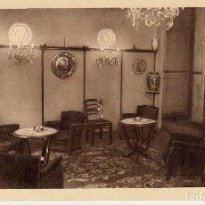 Postales: POSTAL PUBLICITARIA DE HOTEL IGNACIA EN SANTANDER -CIRCULADA-. Lote 123047219