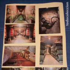 Postales: POSTALES DE VINOS DE LOS HEREDEROS DEL MARQUES DE RISCAL. Lote 123290979