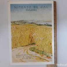 Postales: NITRATO DE CAL, UNION QUIMICA Y LLUCH S.A POSTAL. Lote 125038395